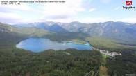 Zugspitze Seilbahn - Blick auf den Eibsee